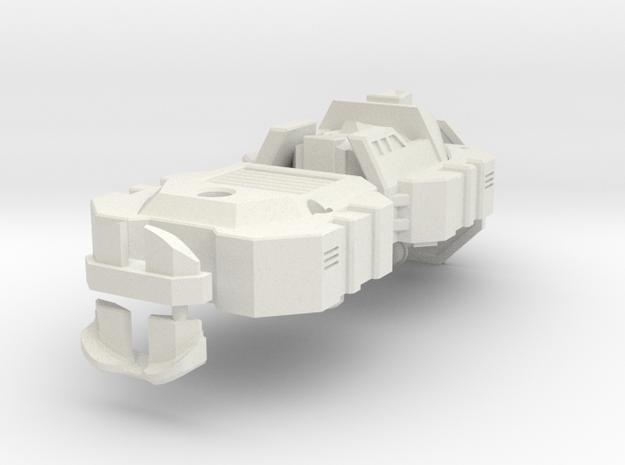 Devestator Head MK2 in White Natural Versatile Plastic