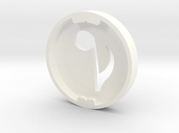Music Note Bud Cover for GLASS 3d printed