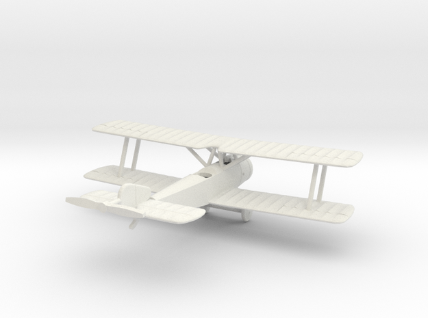 1/144 Sopwith 1 1/2 Strutter (2-seat) in White Natural Versatile Plastic
