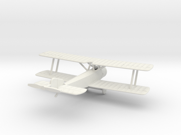 1/144 Sopwith 1 1/2 Strutter (1-seat)   in White Natural Versatile Plastic