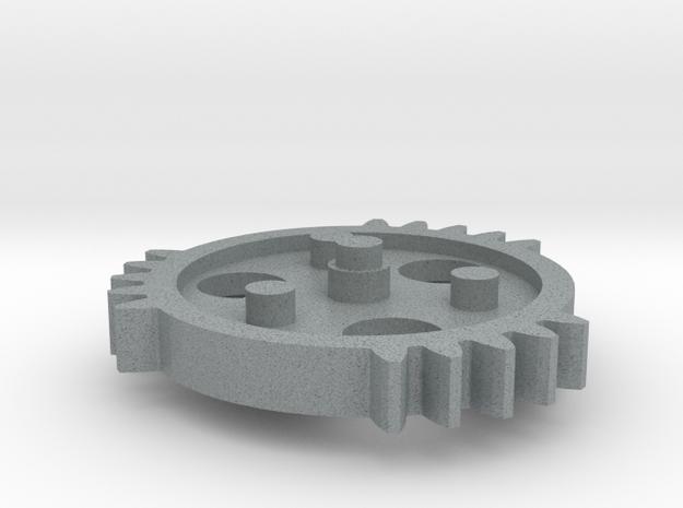 TSG - triple sector gear 2/3 scale keychain/neckla 3d printed