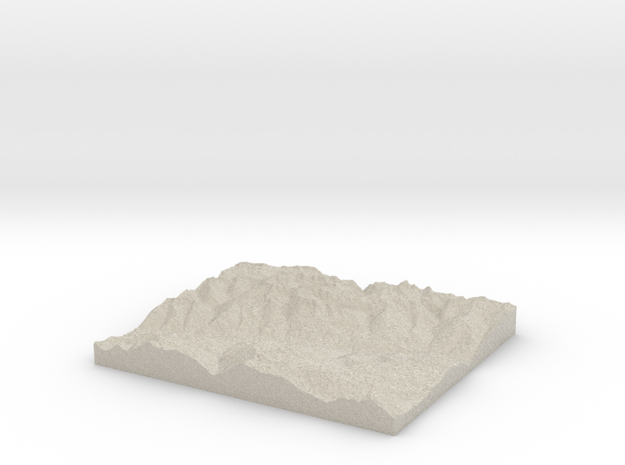 Model of Schlans 3d printed