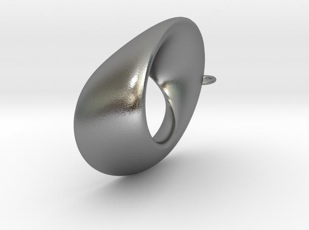 Mobius  - oval 4.5 cm long 3d printed