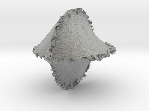Hairy Asteriod 3d printed