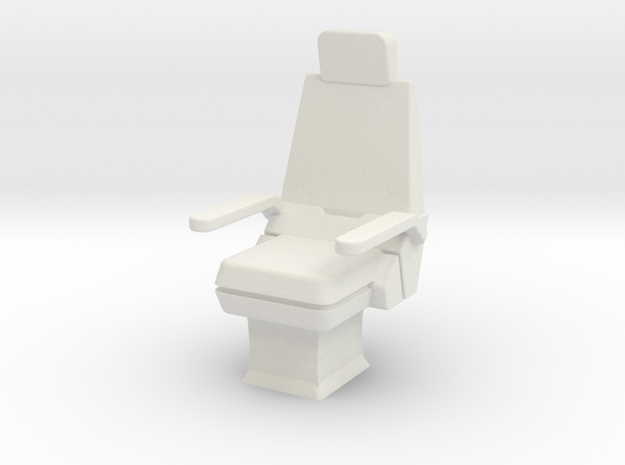 CP07 Command Chair (28mm) in White Natural Versatile Plastic