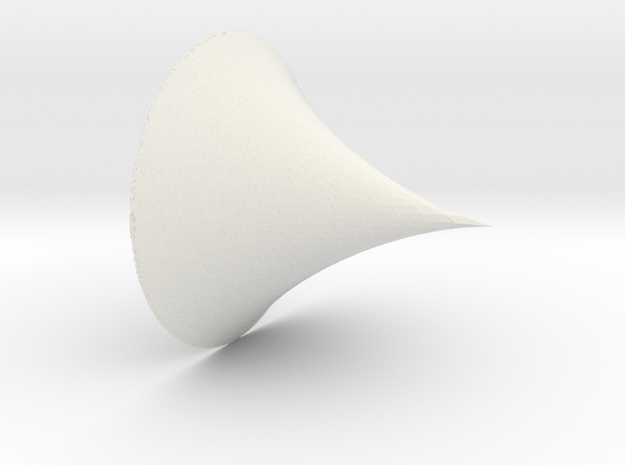 Deltoid 2nd type implicit (mm scale) 3d printed