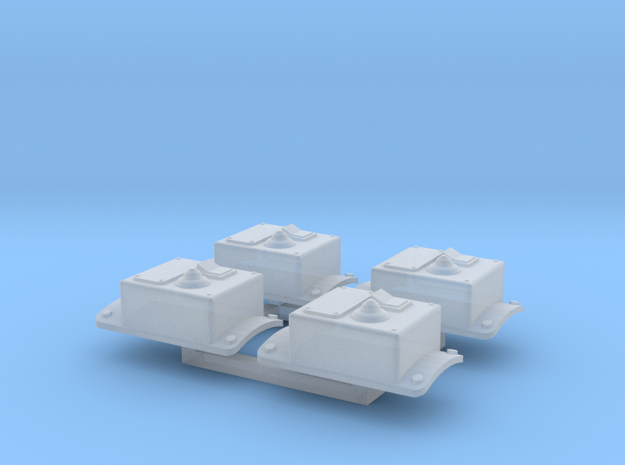 Robot V Homing Beacons in Smooth Fine Detail Plastic
