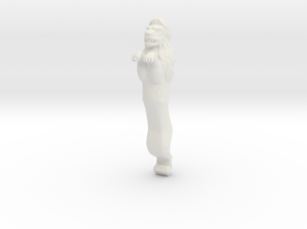 XVI c. lion figurehead_v2. 3d printed