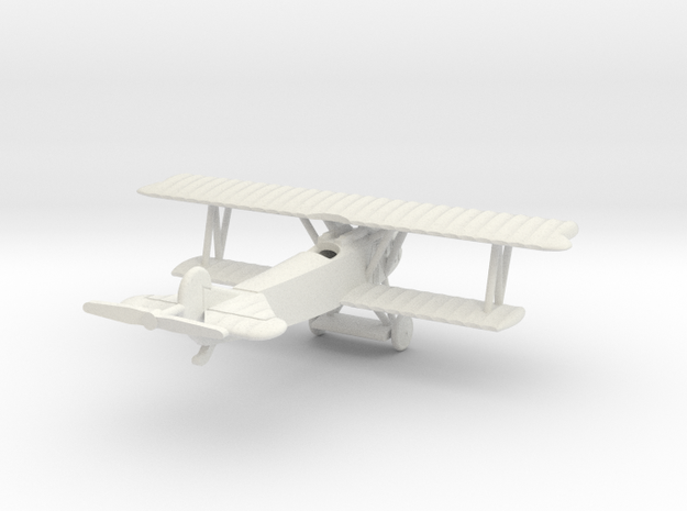 1/144 Fokker D.VII one-piece in White Natural Versatile Plastic