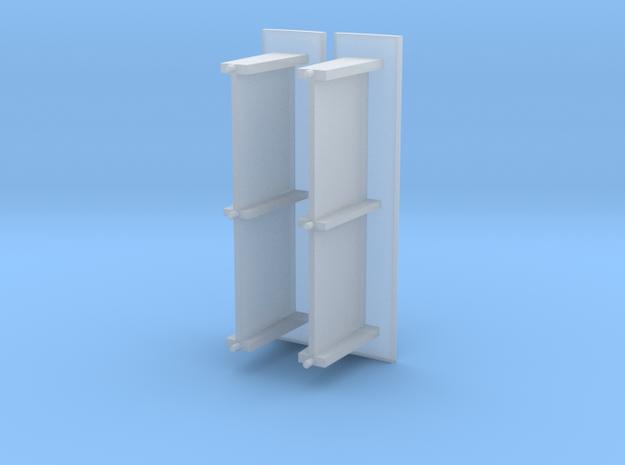 Betonnen abri bushalte schaal N Lang model 3d printed