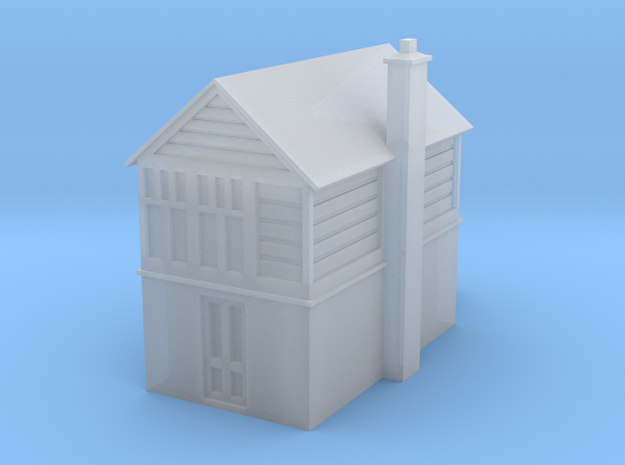 T-gauge Signal Box British in Smooth Fine Detail Plastic
