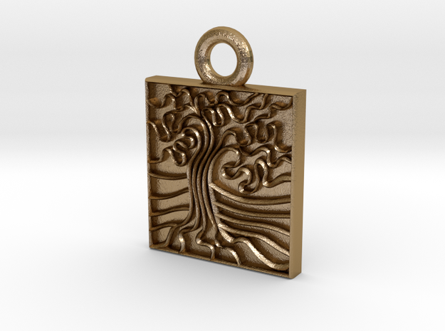 Oak Stamp -25mm v1c Ring 3d printed