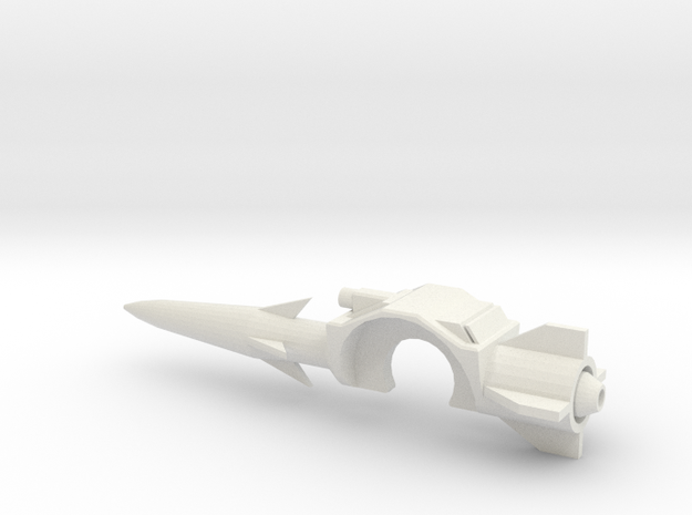 Classics Mirage shoulder launcher in White Natural Versatile Plastic