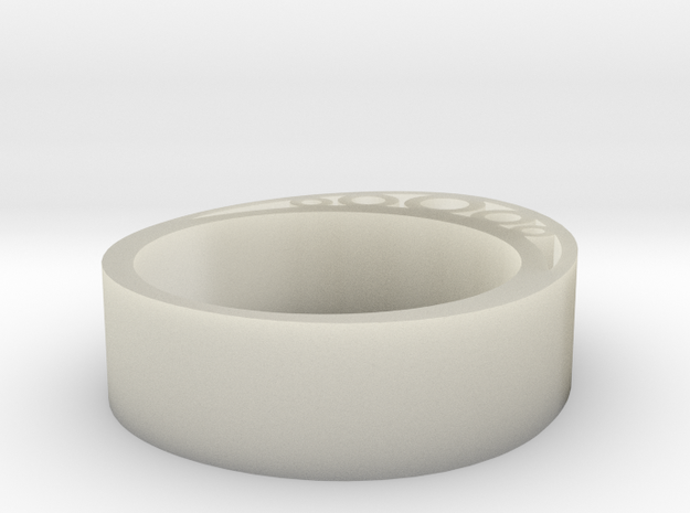 Secret Egg Ring (Small) 3d printed