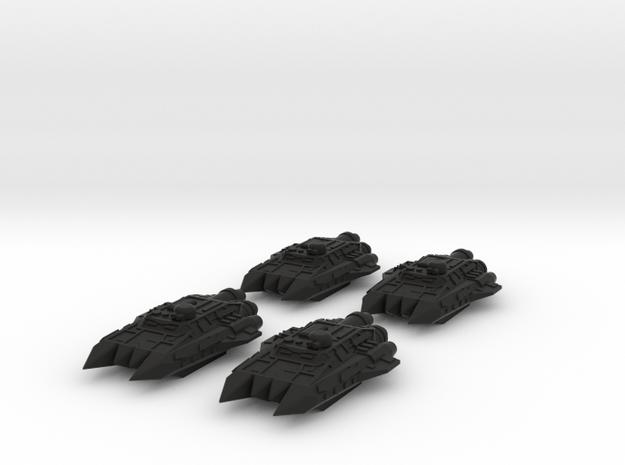 BFG Scrap Fleet Ram Ships Mk1 (x4) 3d printed