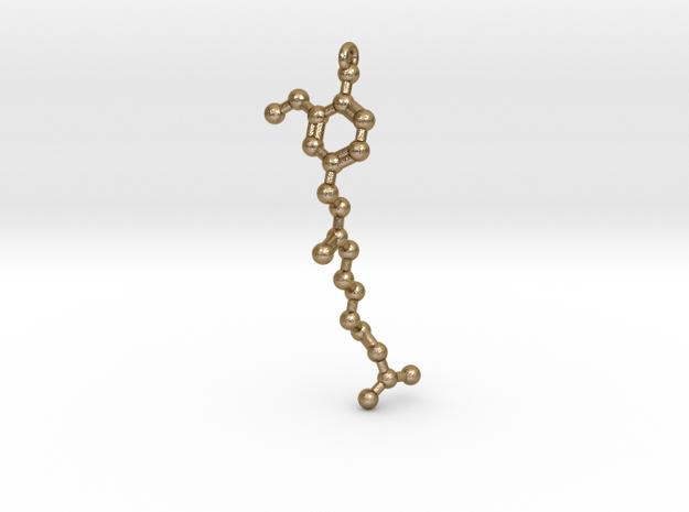 Pendant- Molecule- Capsaicin (Spice) 3d printed