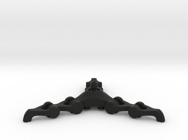 Grabber Cane Articulated in Black Natural Versatile Plastic