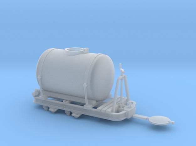 Feldbahn Tanklore gebremst Spur 0f in Smooth Fine Detail Plastic