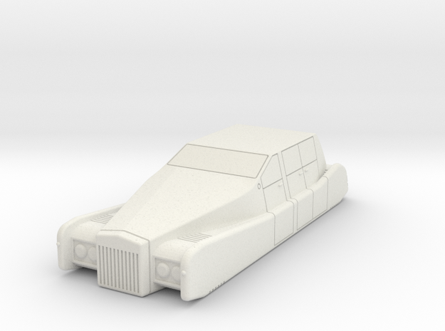 AC10 Spirit Luxury Air Car (28mm) in White Natural Versatile Plastic