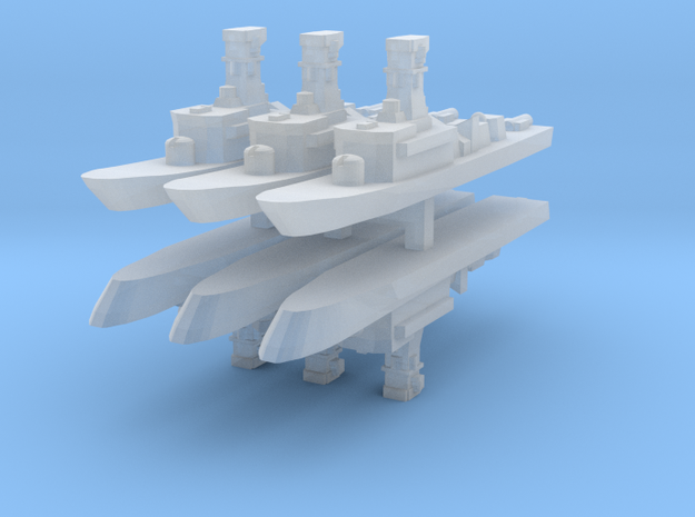 Victory (Singapore) 1:2400 x6 3d printed