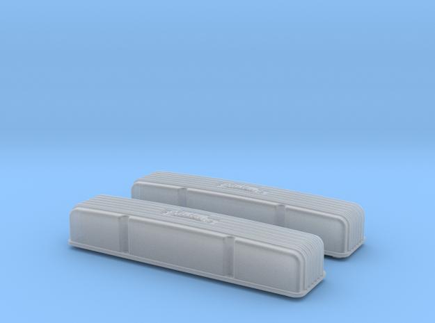1/12 SBC Edelbrock Valve Covers 3d printed