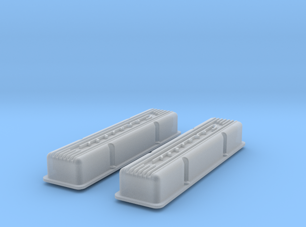 1/16 SBC Corvette Valve Covers 3d printed