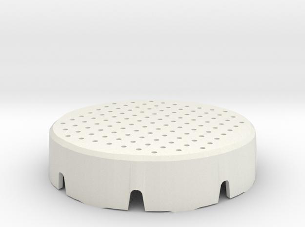 Atta Cover Mm Surface 45 in White Natural Versatile Plastic