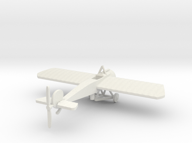 FOKKER EIII  IN 1/144th  in White Natural Versatile Plastic