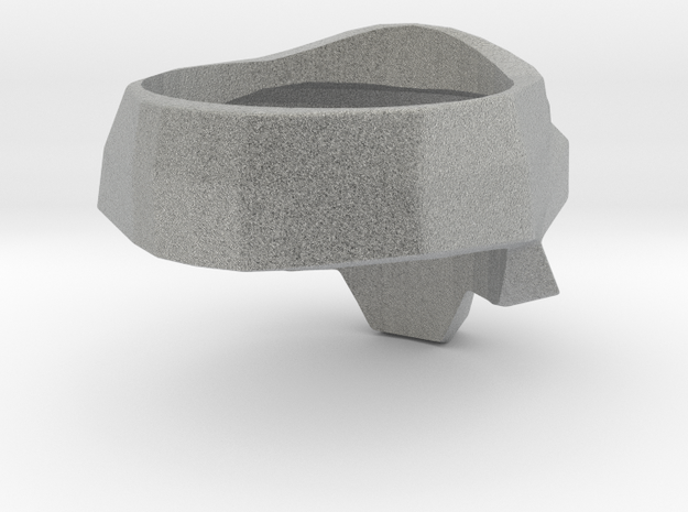 Skull Ring Size-9 3d printed