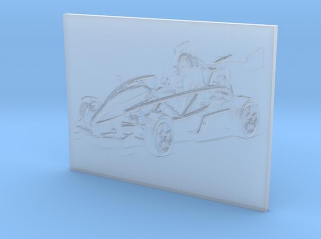 Aerial Atom V8 (3D Portrait) in Smooth Fine Detail Plastic