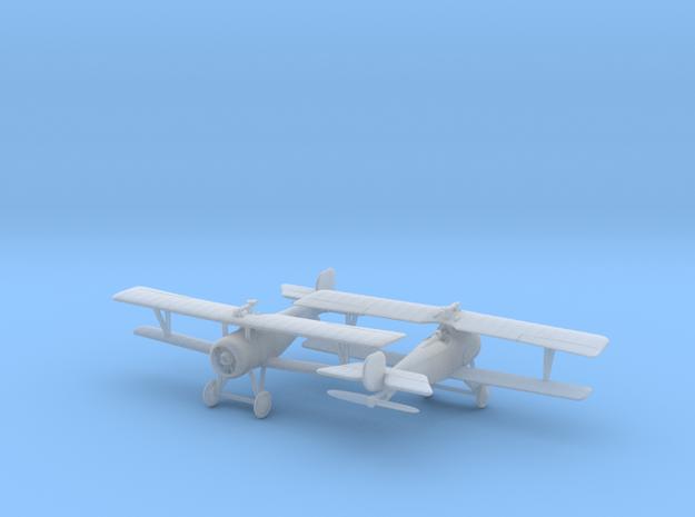 1/144 Nieuport 17 (Lewis) x2 3d printed