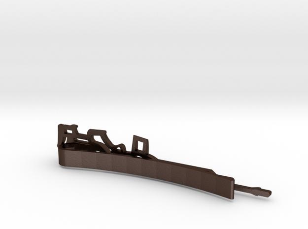 M1A TACTICAL RIFLE MONEY/TIE CLIP 3d printed