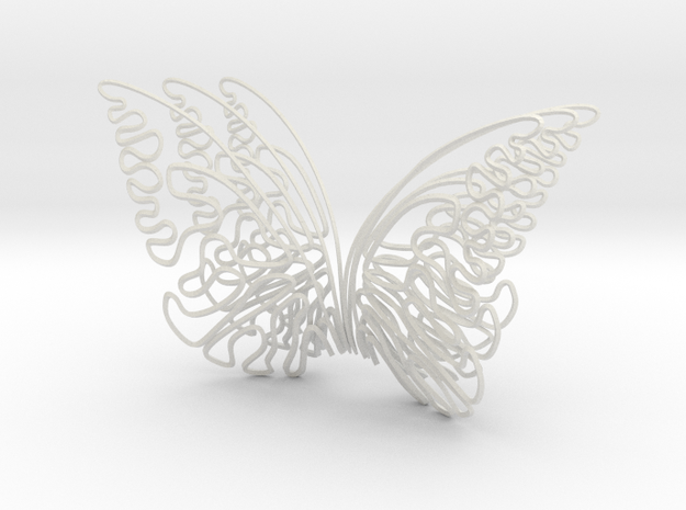 the butterfly effect in White Natural Versatile Plastic