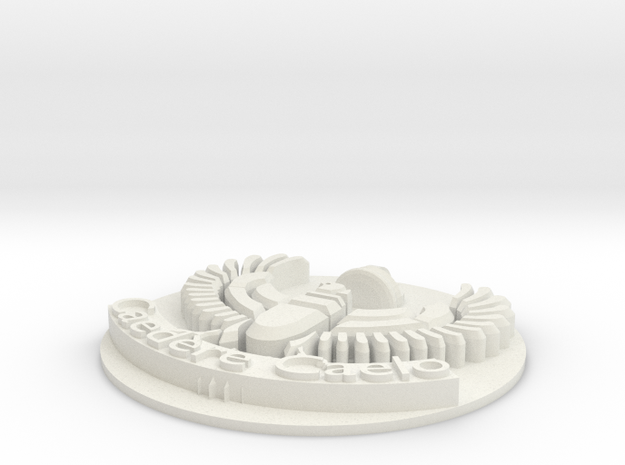 AirCorps Cap Badge (small) 3d printed