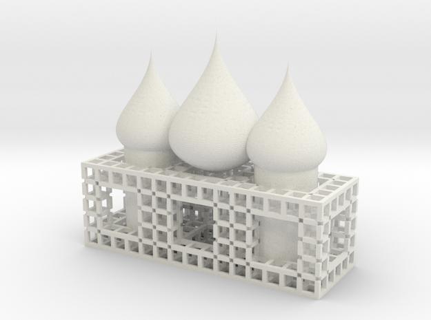 fractal555 dome3Church 3d printed