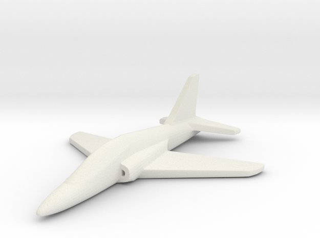 1/285 (6mm) Goshawk Trainer in White Strong & Flexible