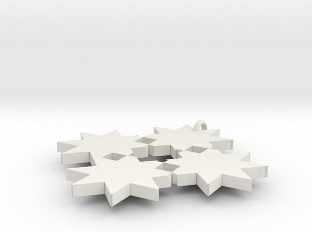8 star cross 3d printed
