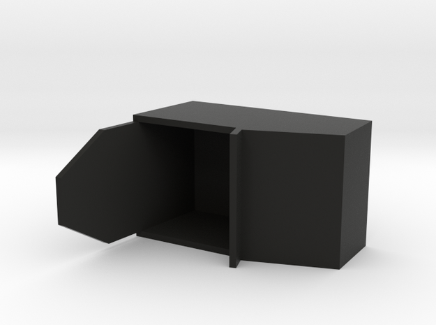 """Simple Action Figure Seat - 3-3/4"""" Scale 3d printed"""