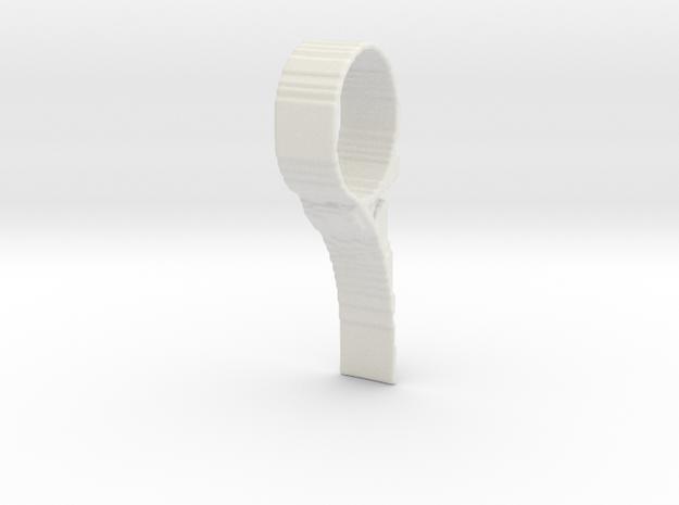 TopOpt DoorStop in White Natural Versatile Plastic