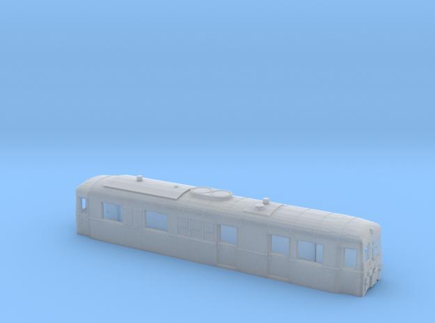 Schmalspurtriebwagen T3 der HSB (1:120) in Smooth Fine Detail Plastic