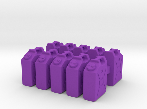 1/35 US Military Water Cans 3d printed