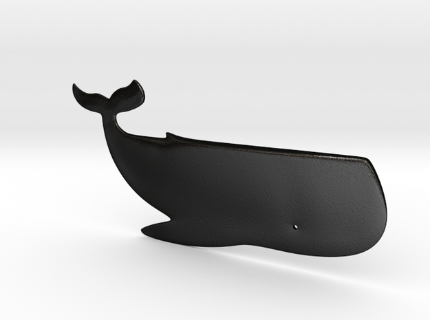 Whale - Butter knife 3d printed