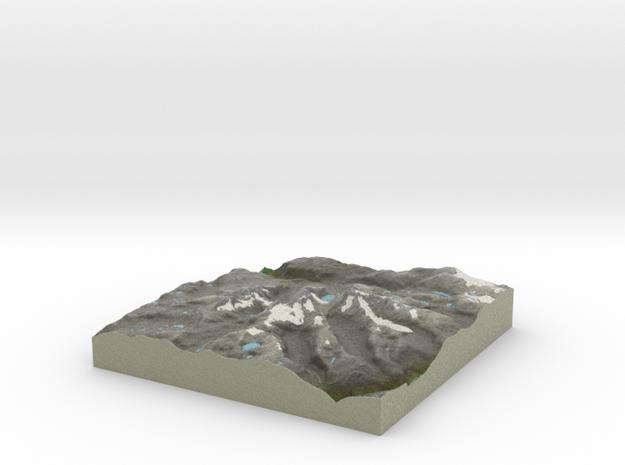 Terrafab generated model Fri Jan 10 2014 19:35:12 3d printed