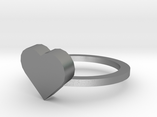 Heart Ring size 11 3d printed