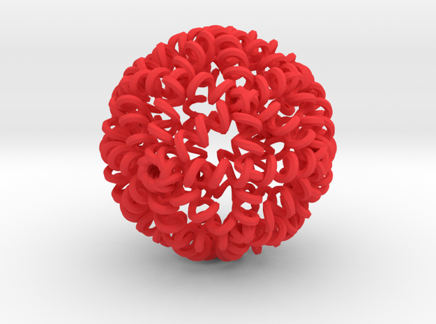 My SPRINGBALL - High Bounce Squishy Ball 72mm 3d printed
