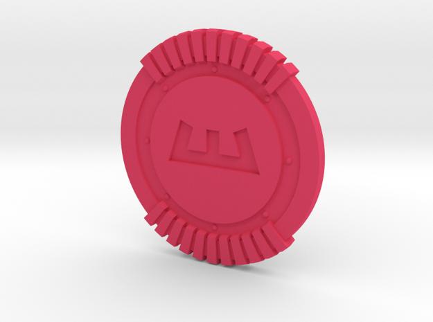 Enforcer Shield 3d printed