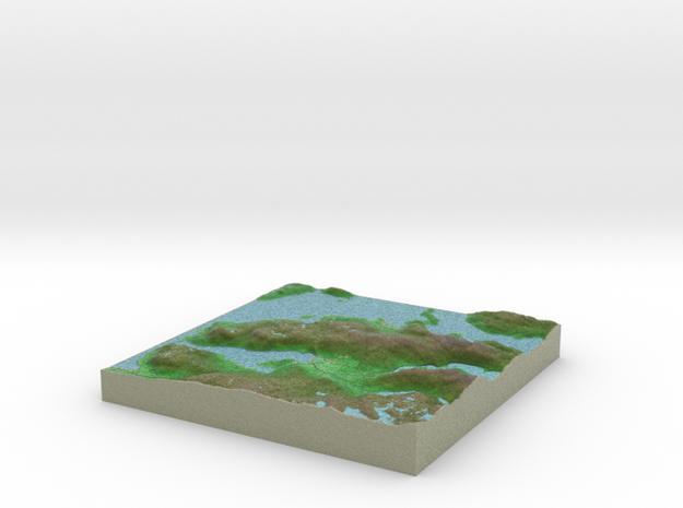 Terrafab generated model Wed Jan 22 2014 12:57:39 3d printed