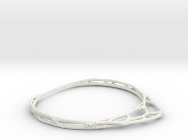 Minimalist Bracelet (small) in White Strong & Flexible