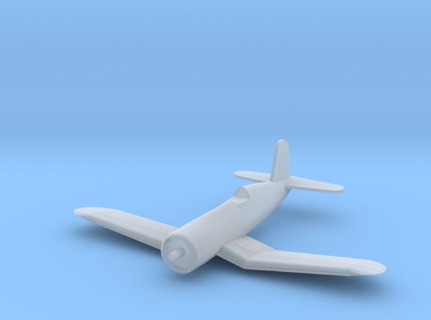 F4 Corsair - Z Scale in Smooth Fine Detail Plastic
