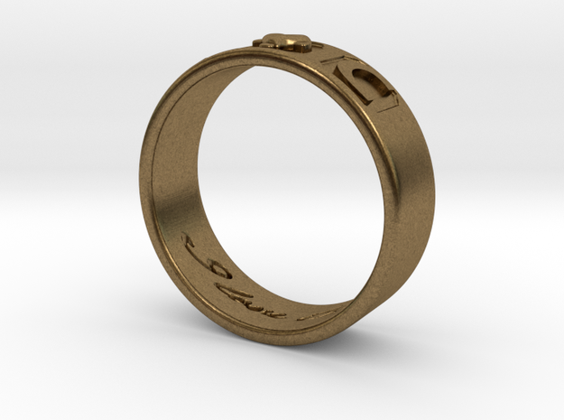 I And C ring 3d printed
